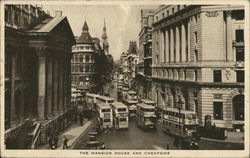 The mansion house and Cheapside