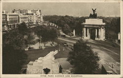 Hyde Park Corner and Quadriga