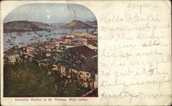 Beautiful Harbor of 8t. Thomas, West Indies