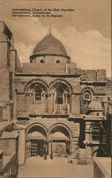 Jerusalem. Curch of the holy sepulchre