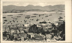 View of the City and Harbour between Hongkong and Kowolon
