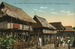 Typical Manobo Houses