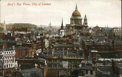 Bird's Eye View of City of London