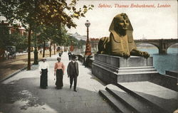 Sphinx, Thames Embankment, London