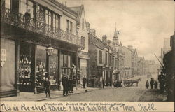 Central High Street Looking South Postcard