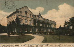 The Convent High School Postcard
