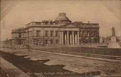 County Buildings Postcard