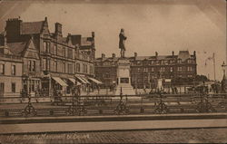 Burns Monument & Square Postcard