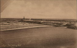 Ayr - Pier Looking West Postcard