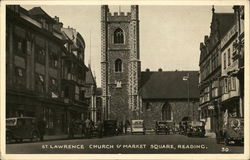 St. Lawrence Curch & Market Square, Reading