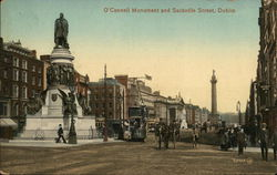 O'Connell Monument and Sackville Street