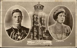 King George VI and Queen Elizabeth I