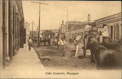 Calle Commercio Postcard