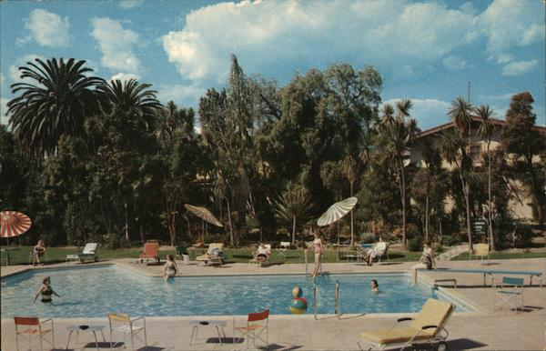 Poolside View at the Inn Santa Maria California