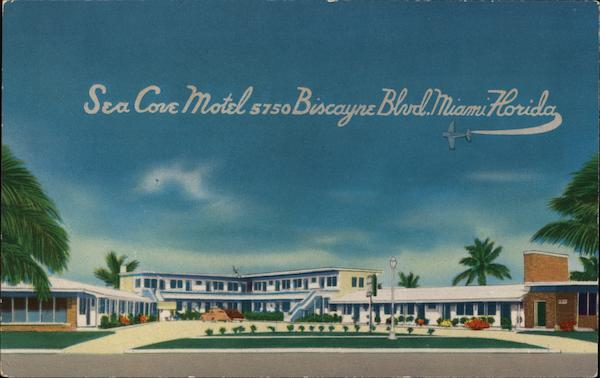 Sea Cove Motel Miami Florida