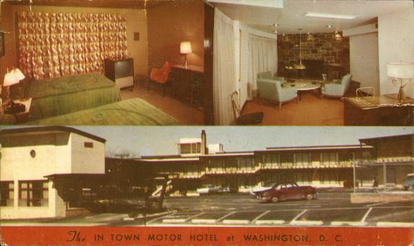 The In Town Motor Hotel Washington District of Columbia