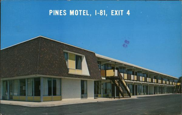 Pines Motel White Pine Tennessee