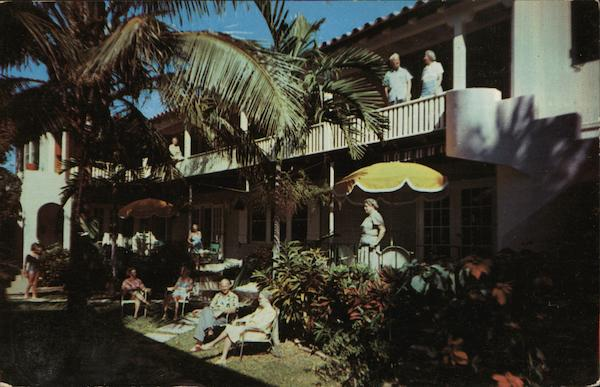 Banyan Patio Apartments and Cottages Fort Lauderdale Florida