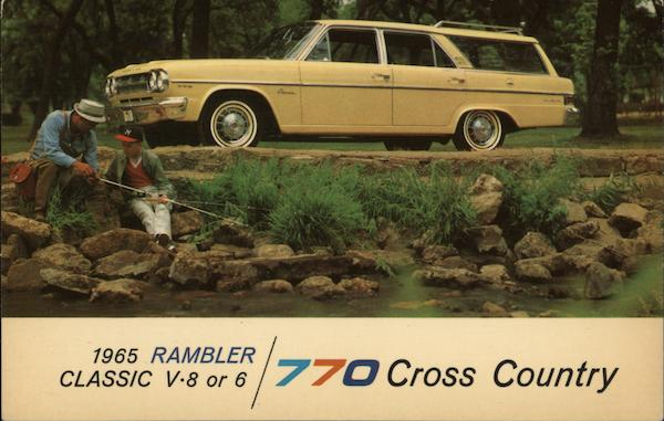1965 Rambler Classic 770 Cross Country Cars