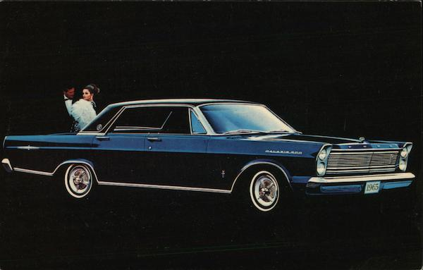 1965 Ford Galaxie 500 LTD Cars