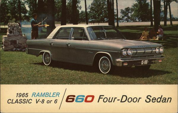 1965 Rambler Classic 660 Four-Door Sedan Cars
