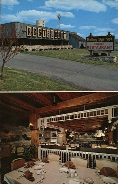 Belles Springs Family Restaurant Mackeyville Pennsylvania