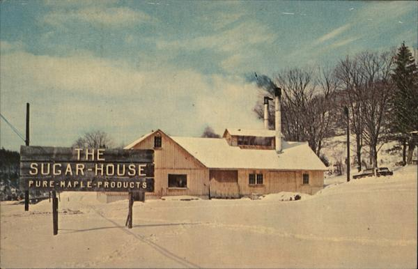 The Sugar-House, Pure Maple-Products Shelburne Falls Massachusetts