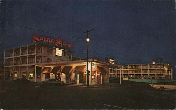 The Santa Maria Motor Hotel Ocean City Maryland