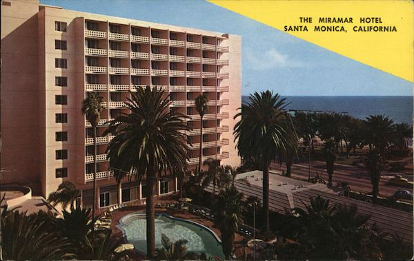 The Miramar Hotel Santa Monica California