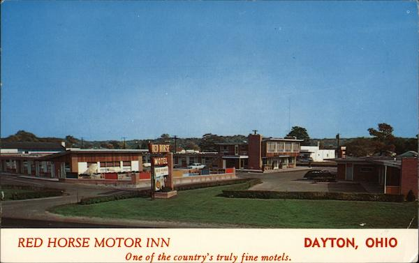 Red Horse Motor Inn Dayton Ohio
