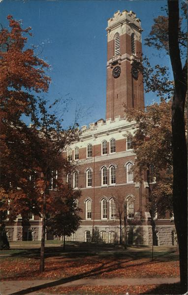 Kirkland Hall, Vanderbilt University Nashville Tennessee