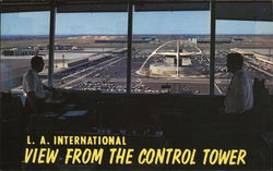 L. A. International - View from Control Tower