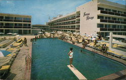 Beau Rivage Resort Motel Postcard