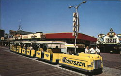 Sightseer Tram Car on the Boardwalk