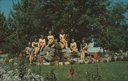 Scott's Oquaga Lake House - Miss Oquaga bathing beauty contestants