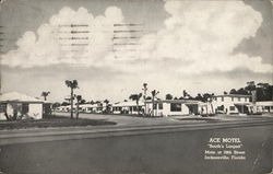 Ace Motel Postcard