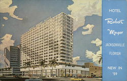Hotel Robert Meyer (New in '59) Postcard