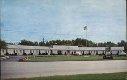 Peters Motel Postcard