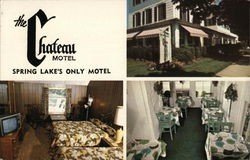 The Chateau Motel Postcard