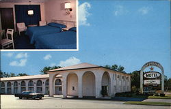 Stardust Motel - Luxurious Air Conditioned Rooms Postcard