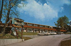 Honeymoon Motel & Restaurant Postcard