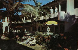 Banyan Patio Apartments and Cottages Postcard