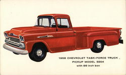 1958 Chevrolet Task-Force Truck P/U model 3204 with 98 inch box