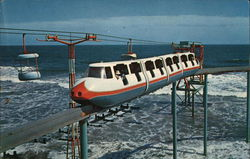 Wildwood By The Sea, Monorail and Sky Ride. (circa 1960's)