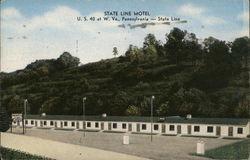 Old Postcard NV Paiute Ranch Motel 3601 South Virginia