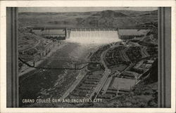 Grand Coulee Dam and Engineers City