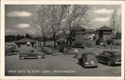 Main Gate to Fort Lewis