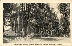 First Academic Building, Virginia Polytechnic Institute