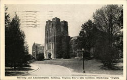 Virginia Polytechnic Institute - Teaching and Administration Building