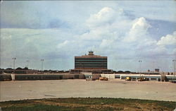 Air Terminal from Landing Field